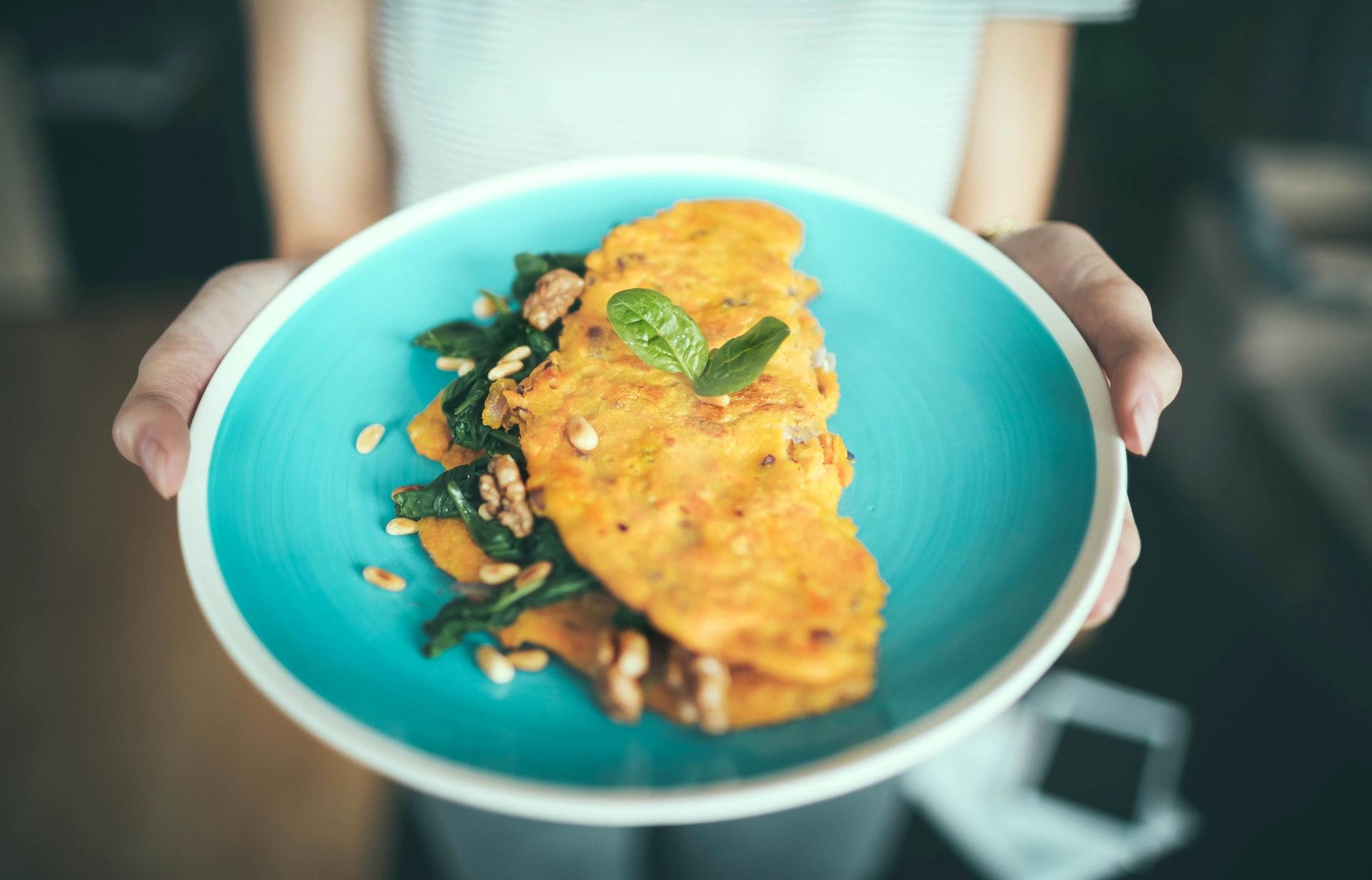 Omelette de calabacín, zanahoria